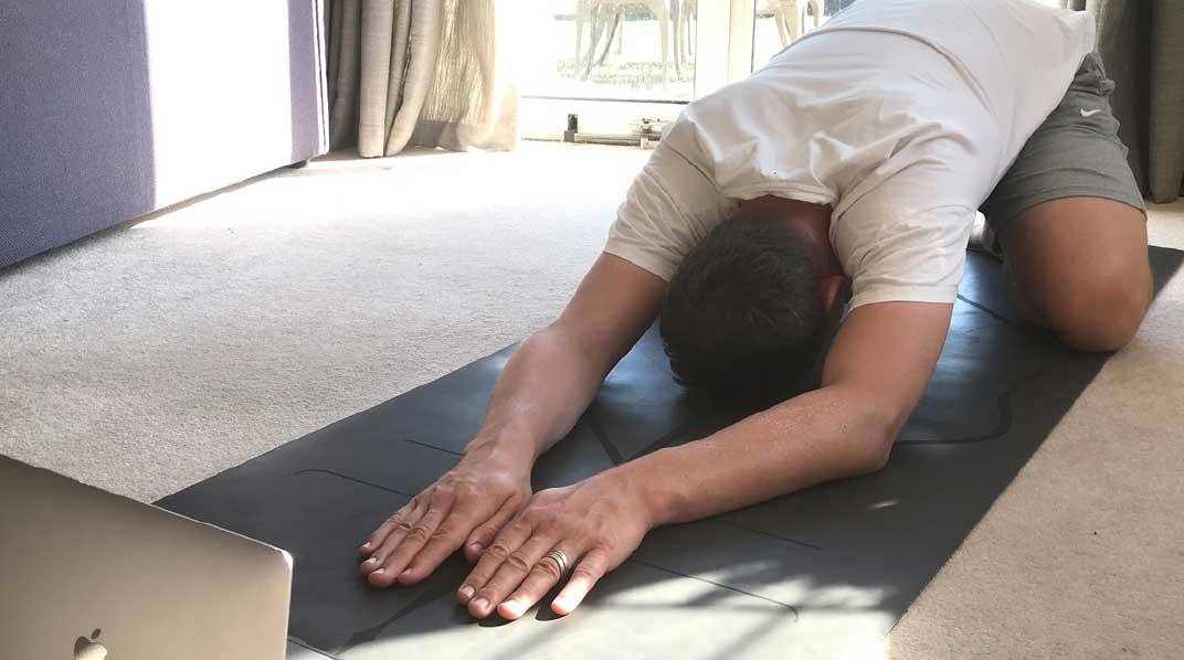 On-line Yoga Therapy via Zoom