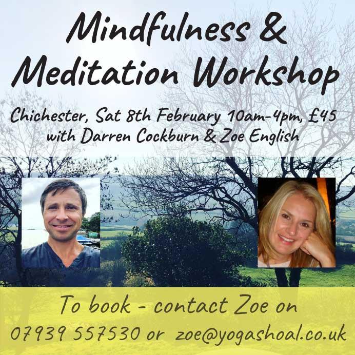Mindfulness and Meditation Workshop 1